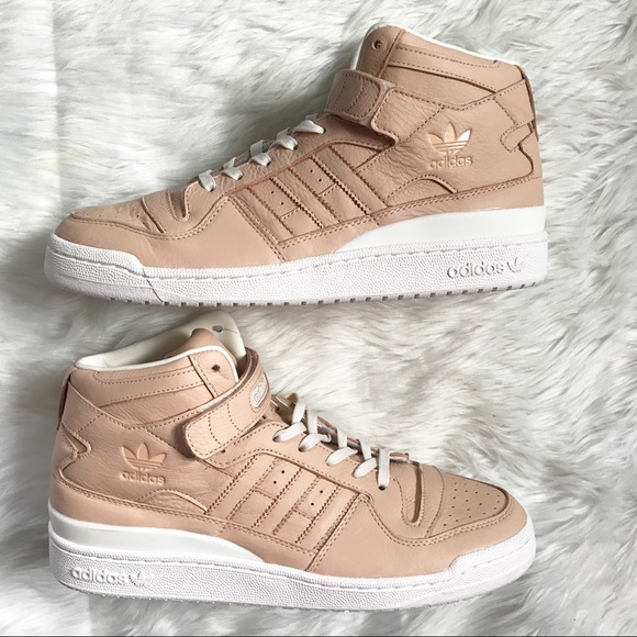 NWT Rare Adidas Forum Mid Refined Shoe Sneaker a580d2593